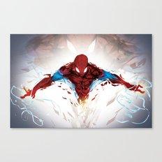 Torn Suit  Canvas Print