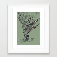 huebucket Framed Art Prints featuring Dream Again by Huebucket