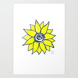 girassol Art Print