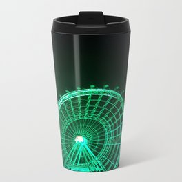 Green Wheel Metal Travel Mug