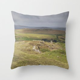 View from the Tor Throw Pillow