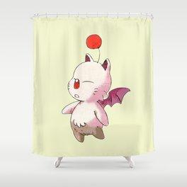 FINAL FANTASY CUTE MOGURI Shower Curtain