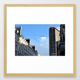 Kensington Skyline - London Framed Art Print