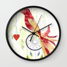 Unique Bird Wall Clock