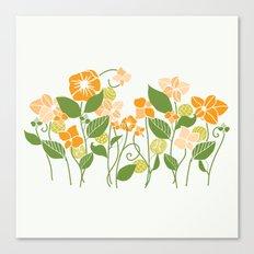 Karis Flowers Canvas Print