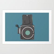 Hasselblad Art Print