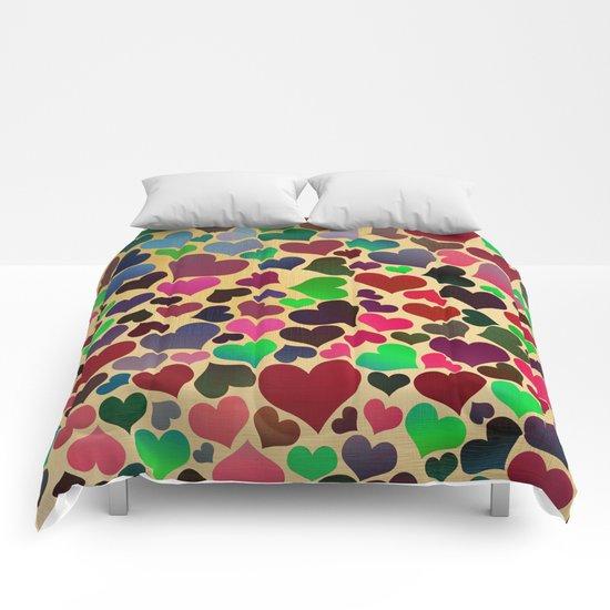 Joyful Love 2 Comforters