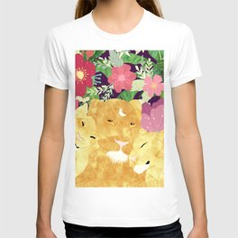 A Sincere Promise I Made To Myself, To Be Your Lioness When Things Are Messed #painting T-shirt