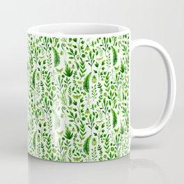 Flora and Fauna seamless pattern Coffee Mug