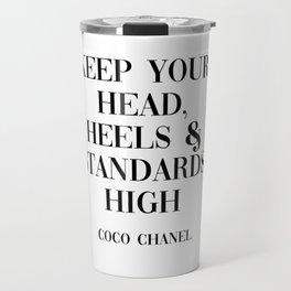coco quote Travel Mug