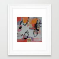 macaroons Framed Art Prints featuring Macaroons by Patricia Schwimmer