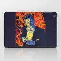 johnny cash iPad Cases featuring Johnny Cash by Rich Anderson