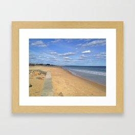 East Beach. Framed Art Print