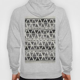 Tribal Geometric Chevron Stripes Hoody