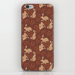 Hare Hoedown iPhone Skin