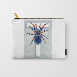 T is for Tarantula  Letter Alphabet Decor Design Art Pattern Carry-All Pouch