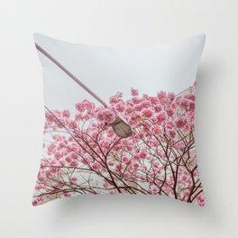 flower photography by Gláuber Sampaio Throw Pillow
