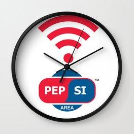 Pepsi Zone Wall Clock