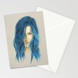 """Blue"" Stationery Cards"