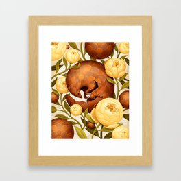 PROSPERITY IN BLOOM Framed Art Print