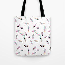 Feather fall Tote Bag