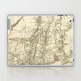 American Revolutionary War Map (1782) Laptop & iPad Skin