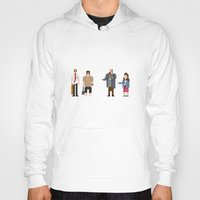 shaun of the dead Hoodies featuring 8-bit Shaun of The Dead by MrHellstorm