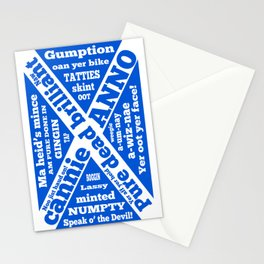Scottish slang and phrases Stationery Cards