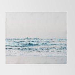 Kiss Me Like A Wave Throw Blanket