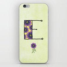 E iPhone & iPod Skin