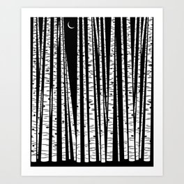 See the Forest Art Print