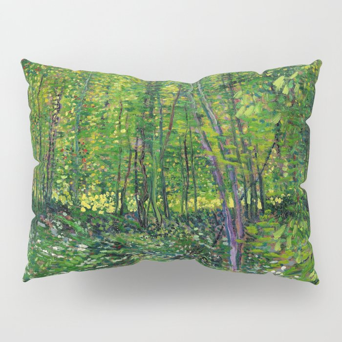 Vincent Van Gogh Trees & Underwood Pillow Sham