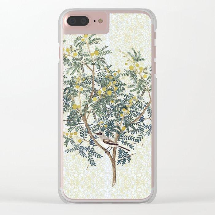 A bird in the bush Clear iPhone Case