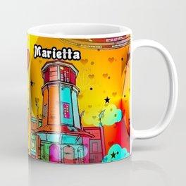 Marietta Popart 2018 by Nico Bielow Coffee Mug