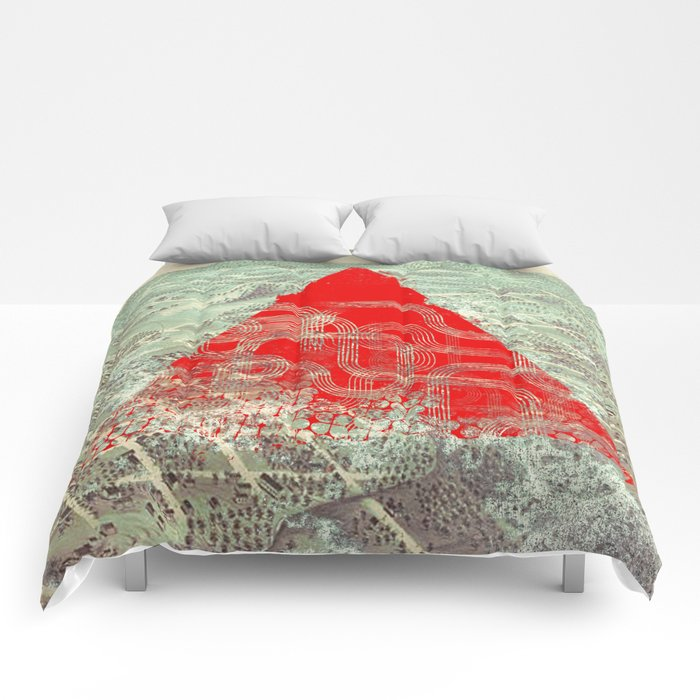 Rusty Future Comforters