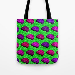 Brains And Leopard Print Tote Bag