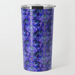 BAD KIDS—pattern Travel Mug