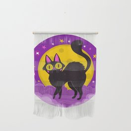 Halloween Cat Wall Hanging