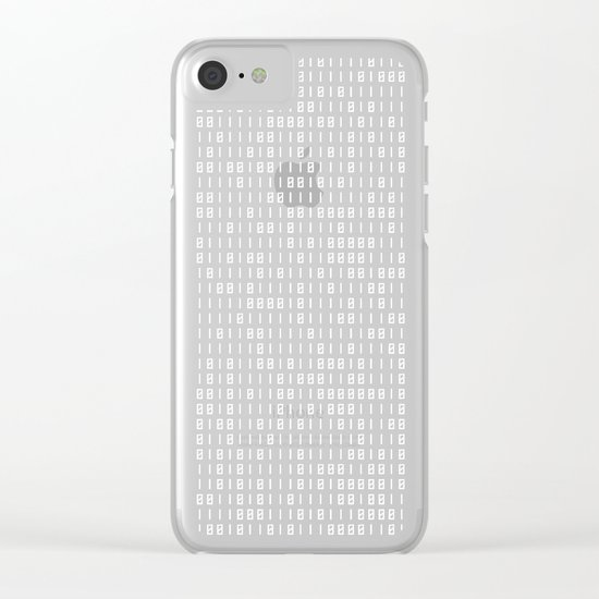 hacker Clear iPhone Case