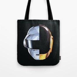 Daft Punk Polygon Tote Bag