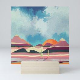 Pink Desert Glow Mini Art Print
