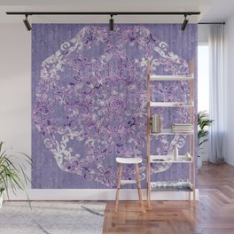 A Taste of Lilac Wine Wall Mural