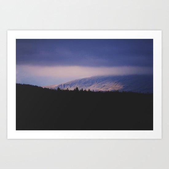 Bleak Mountain #2 Art Print