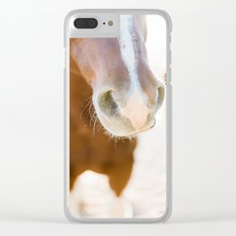 Nosey Clear iPhone Case