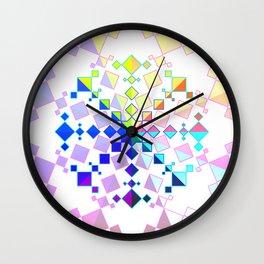 Kaleidoscopic Pride Wall Clock