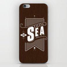 Facing The Sea iPhone & iPod Skin
