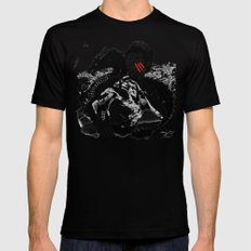 Bruce - Enter the Dragon Mens Fitted Tee Black SMALL