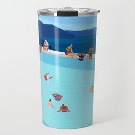 Santorini Summer Travel Mug