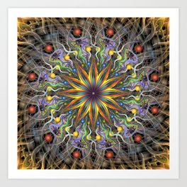 Reverse Cosmosis Art Print