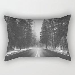 ROAD TRIP IV / Yosemite, California Rectangular Pillow